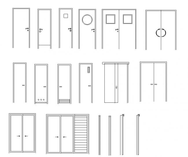 15 Types of doors