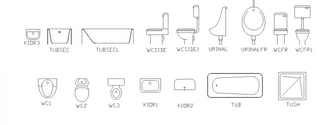 1:50 sanitary fittings