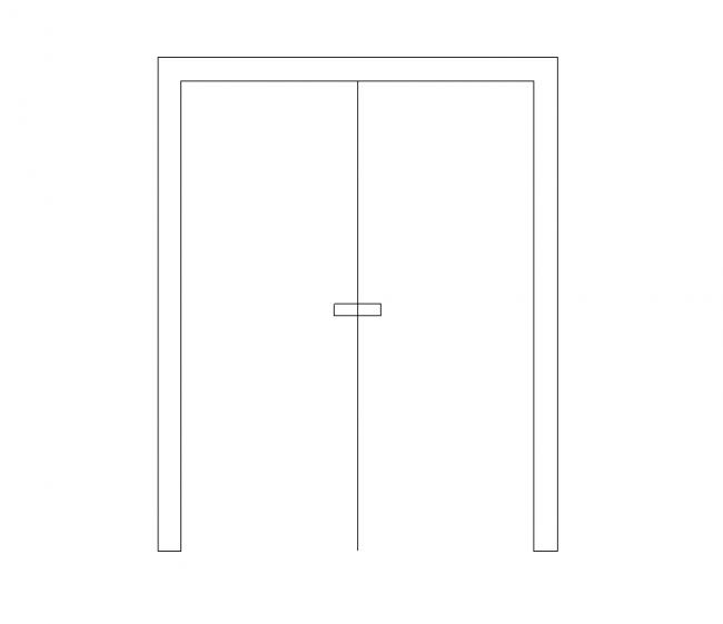 170 duální křídlové dveře vpředu