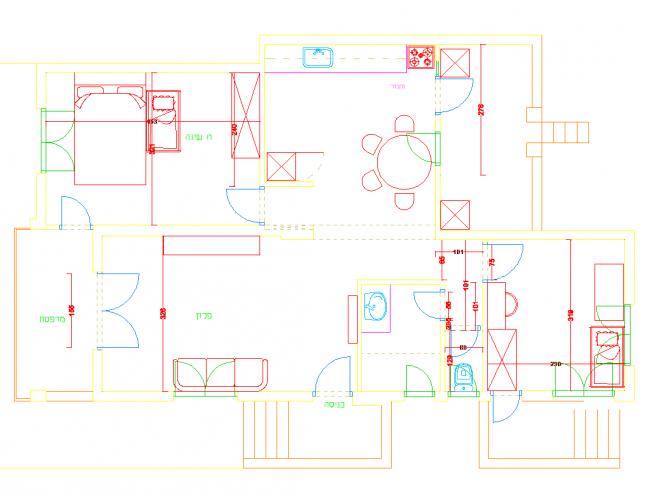 Apartamento de 4 piezas en Ramat Gan