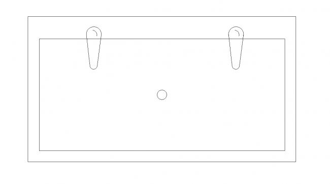 Um olhar sobre a pia - duas torneiras