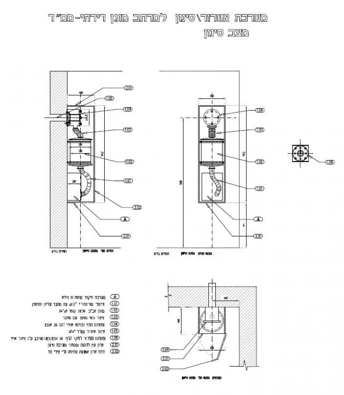 A ventilation system and air filtration dimension