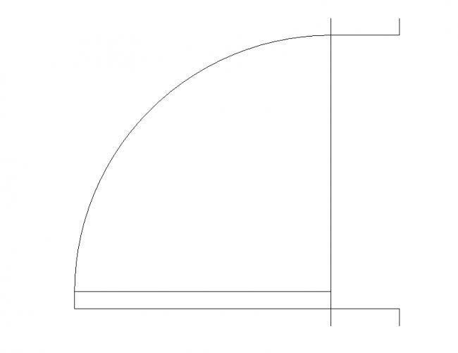APS door width 90 cm