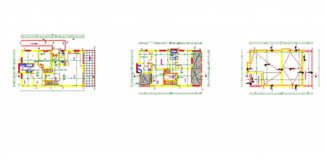 Architectural sketch structure