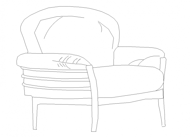 Armchair for cuts glance