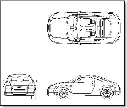 Audi TT -Television shows and two-dimensional facades