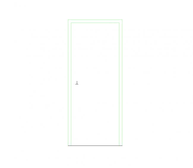 AutoCAD block file Door 2:10