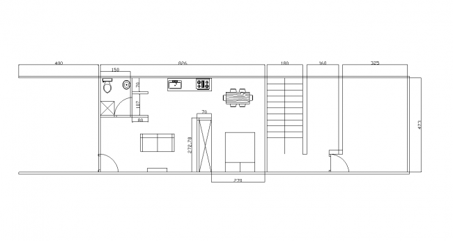 Basement and a housing unit