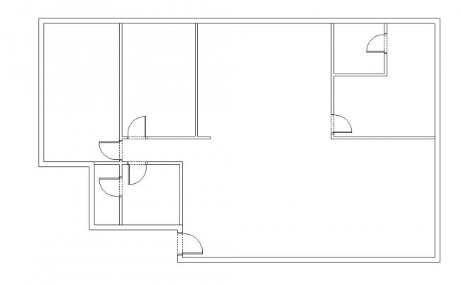 Basic plan Walls-Doors