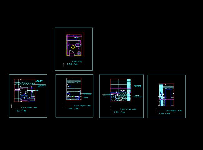 Bathroom layout examples