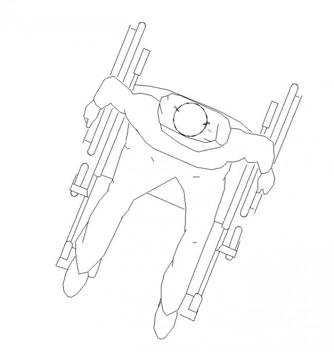 Block wheelchair