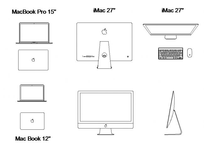 Blocks számítógépek, Apple számítógépek