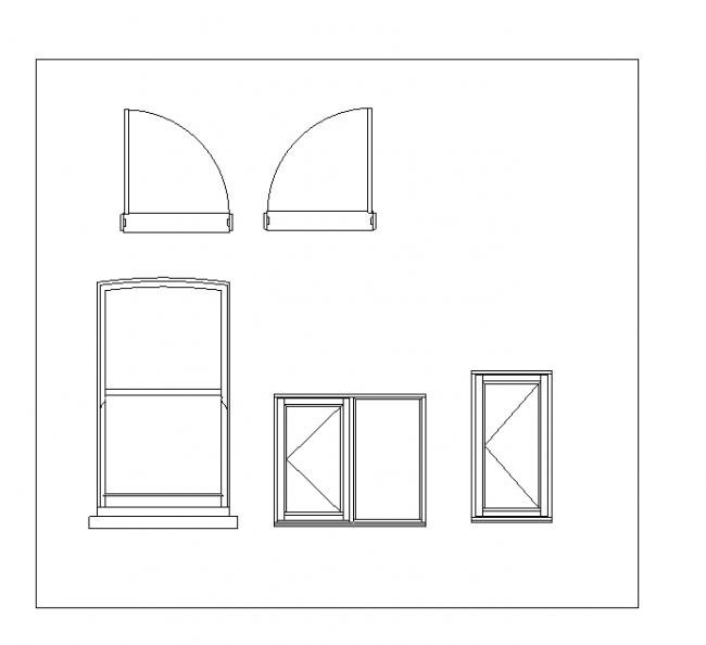 Blocks of doors