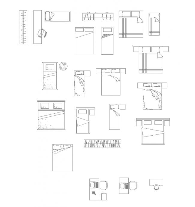 Skabe Beds symboler