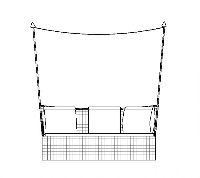 Canopy sofa
