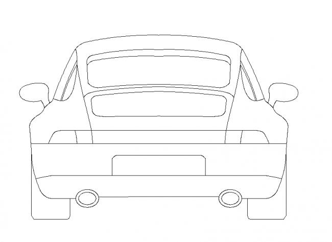 Car DWG Ceco.NET-Vehicles-Cars