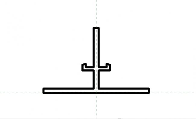 Ceiling profile Block 1