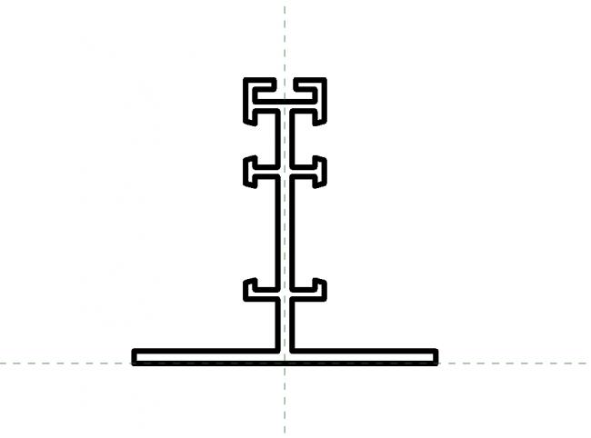 Ceiling profile Block 3