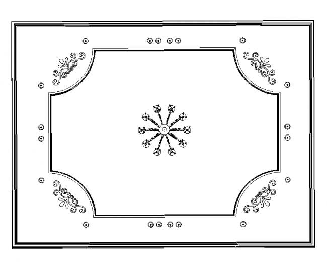 Classical ceiling