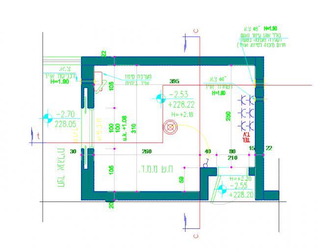 Dimenzió hálószoba terv