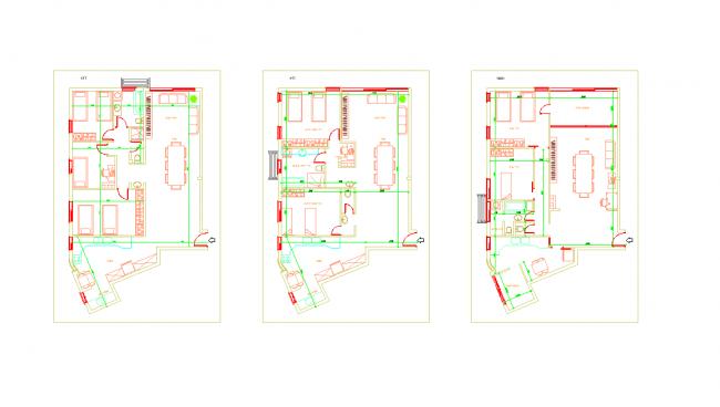 Drafting apartment