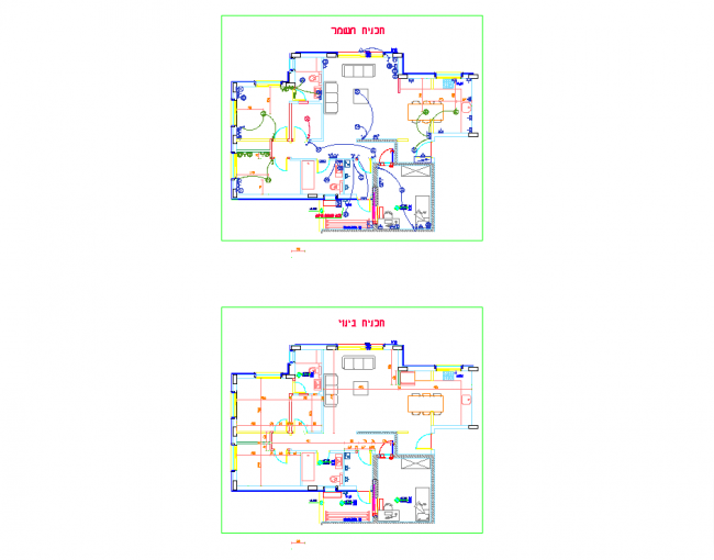 Electrical Construction Plan