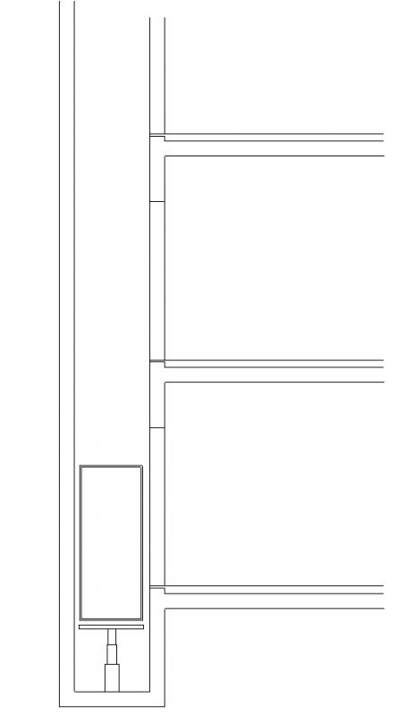 Lift - normál felvonóblokknak