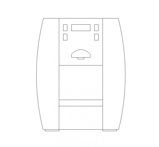 Hzit- block countertop water dispenser