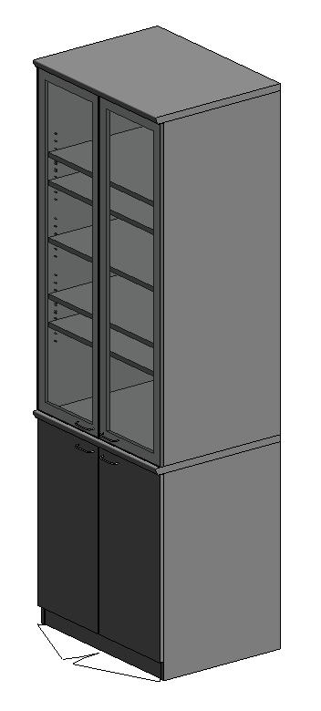 Laboratory cupboard door hinge 4 high
