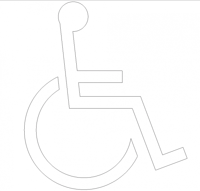 Marking the disabled
