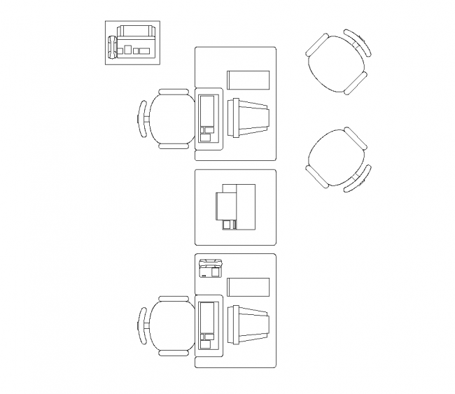 Office-bútor blokkok pozíciók