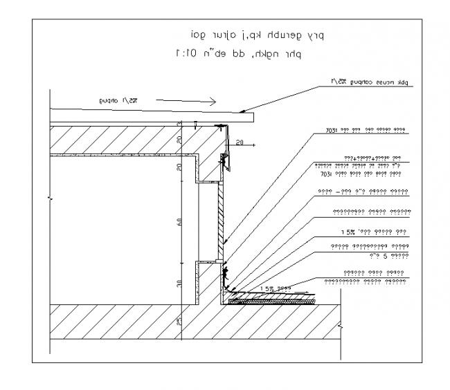 Open elevator shaft detail smoke release