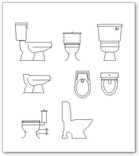 Andra toaletter - Två Dimension