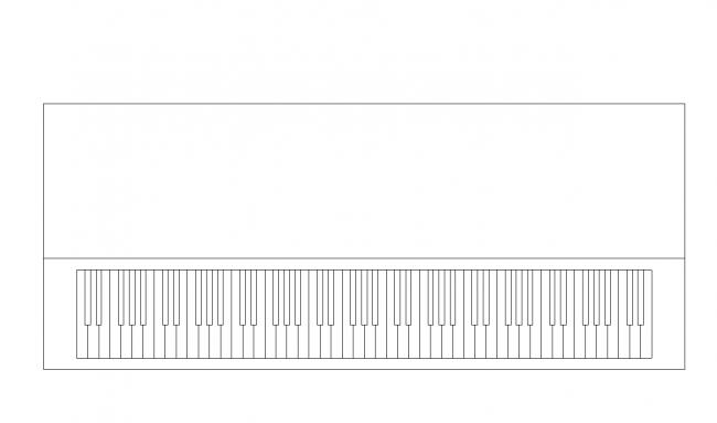 rektangulär piano