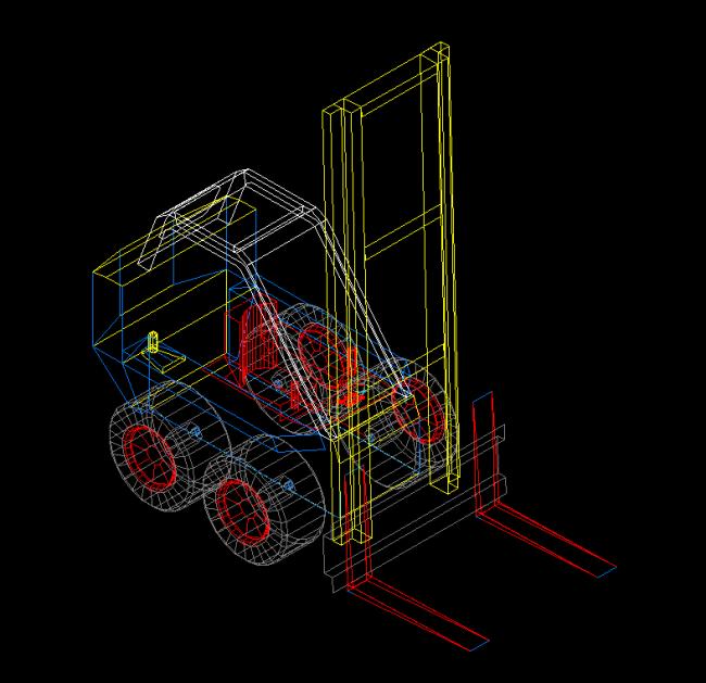 Three dimensional forklift Blog