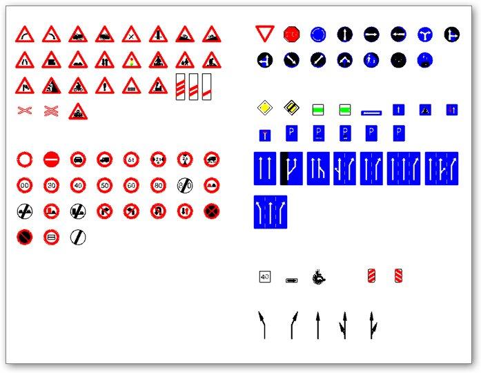 Közlekedési táblák